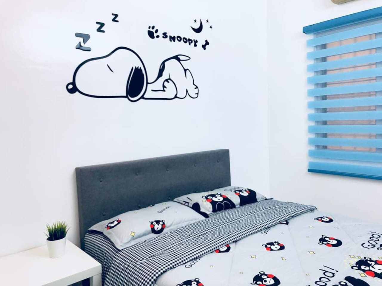 Snoopy Standard Double Bed Room