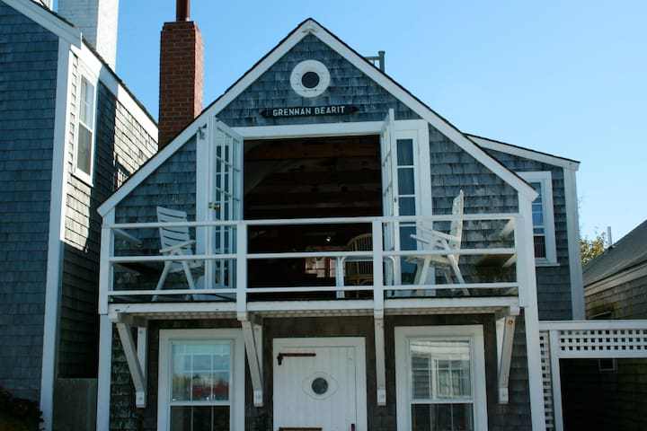 The Boathouse on Nantucket's Old North Wharf