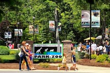 Our award winning zoo just a mile away.