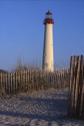 Visit historic Cape May and her Lighthouse.