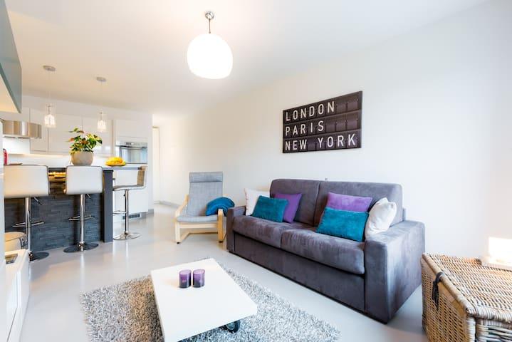 STUDIO NEUF 28m2 avec petit jardin - Plan-les-Ouates - Apartment