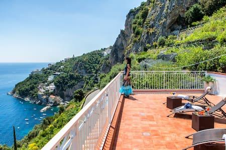 Luxury Villa Serena, all sea view ! - Amalfi - Villa