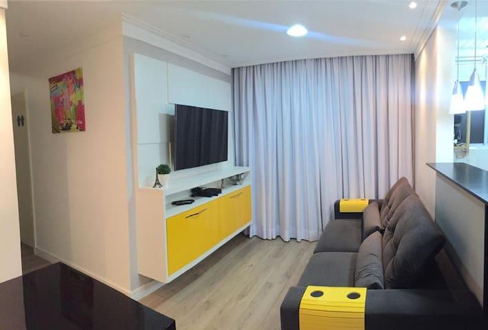 Cozy apartment next to Interlagos avenue - São Paulo - Apartment