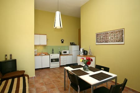 Hawk hill Cottage in olive trees - Theriso - Apartment - 1