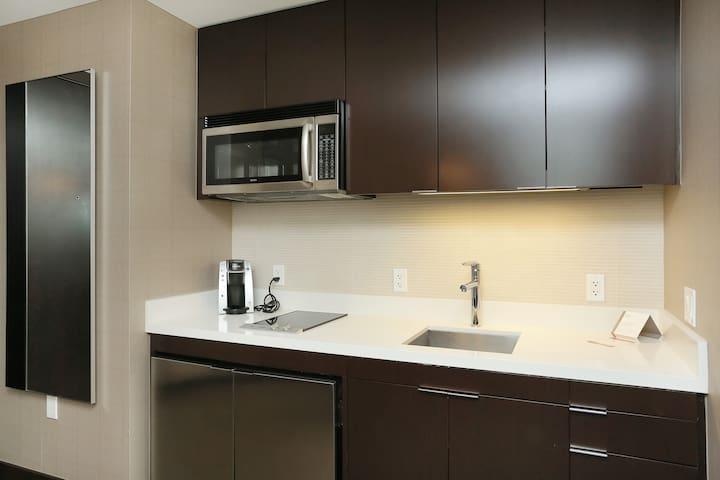Full kitchen, appliences