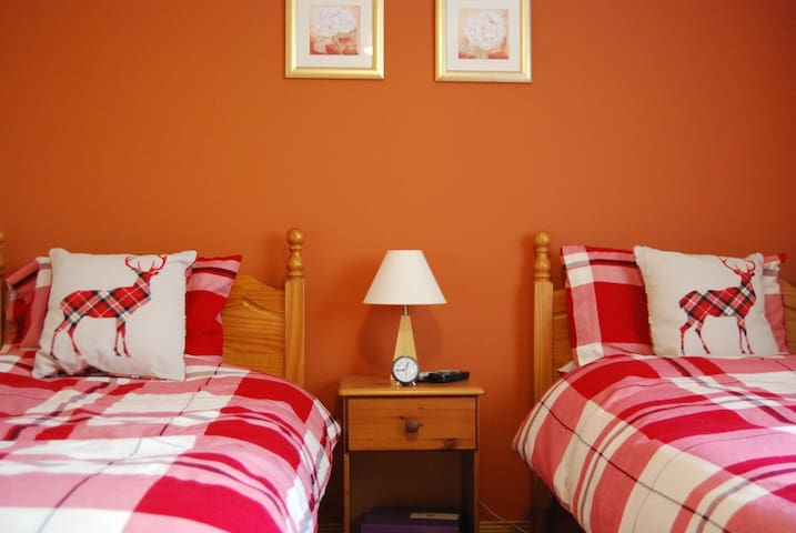 Cuillin View Twin Room  - Crossal