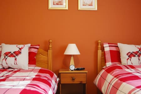 Cuillin View Twin Room  - Crossal - Inap sarapan