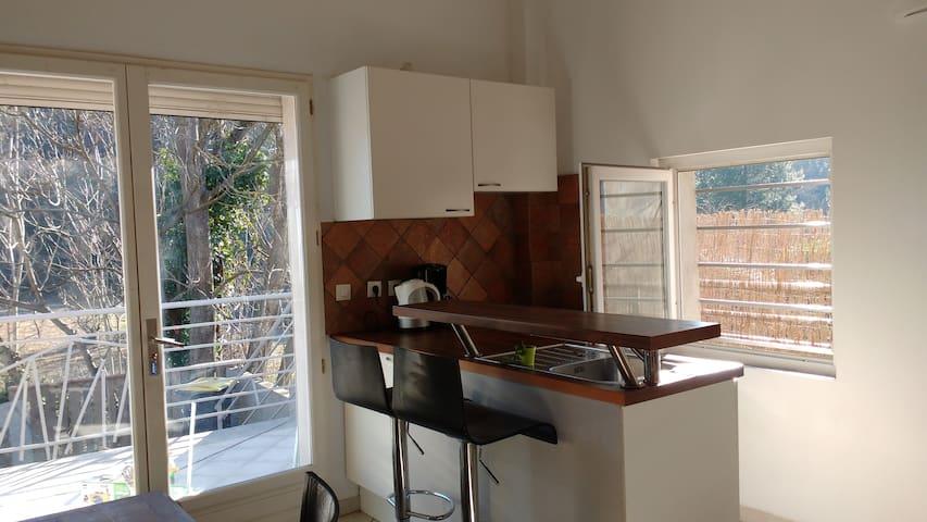 F2 DUPLEX terrasse - Lamalou-les-Bains - Apartment