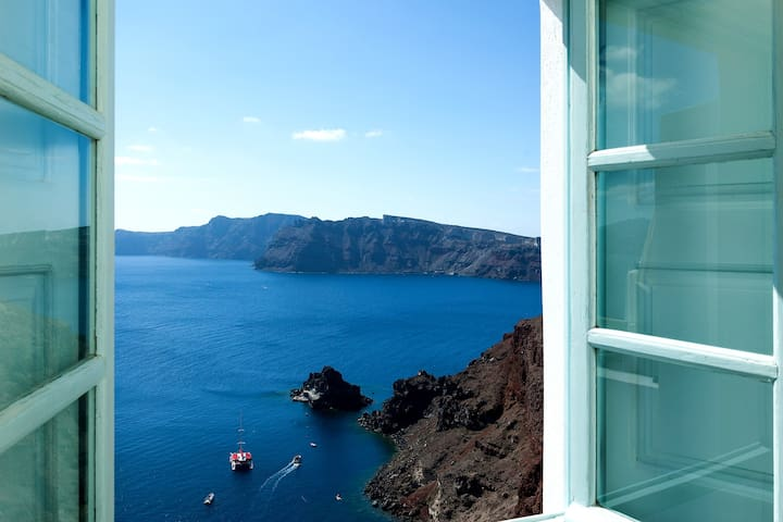 'The Big Blue' villa in Oia - Oia - Apartamento