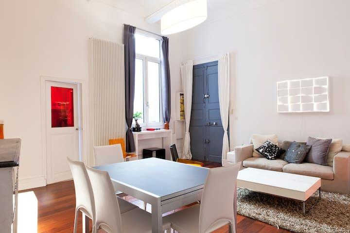 Grde Chambre ds hôtel particulier  - Montpellier - Apartment