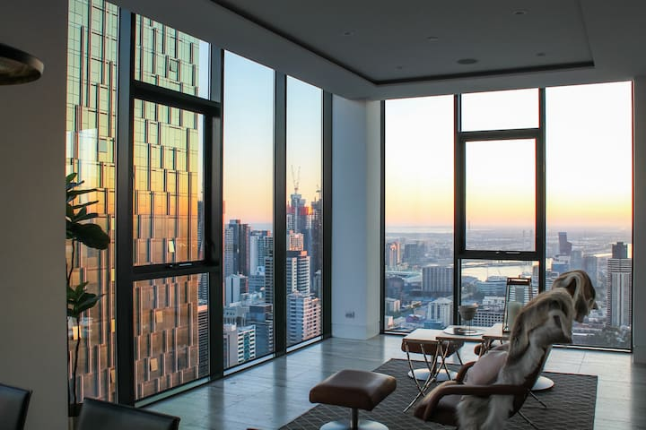 Luxury Penthouse with City Views