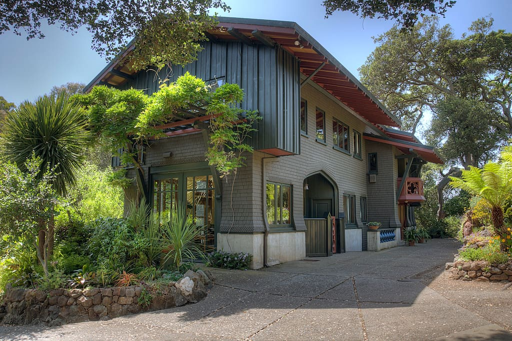 Landmark craftsman mansion villas louer oakland californie tats unis - Maison hillside gipsy a berkeley en californie ...