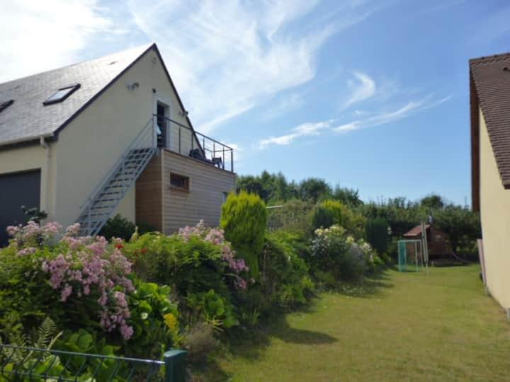 Studio37 aux portes de Honfleur et du pays d'Auge