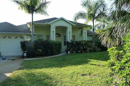 Tropical Paradise - Acre, Lake, Pool, Pet Friendly - Lehigh Acres - Haus