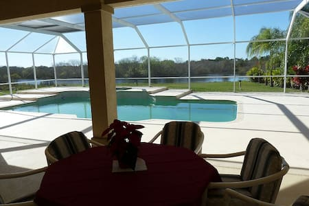 Tropical Paradise - Acre, Lake, Pool, Pet Friendly - Lehigh Acres - Maison
