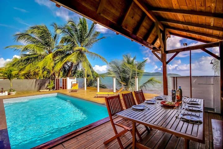 Villa Beau Rivage - Vue mer - 4ch - La Trinité, Martinique - Villa