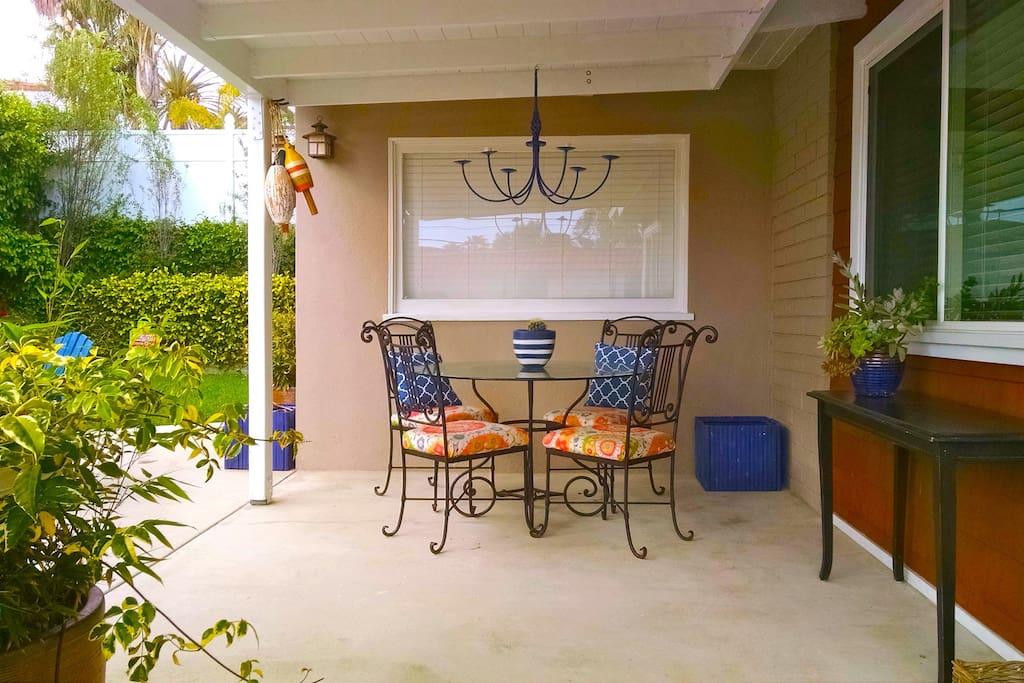 Backyard/Entry