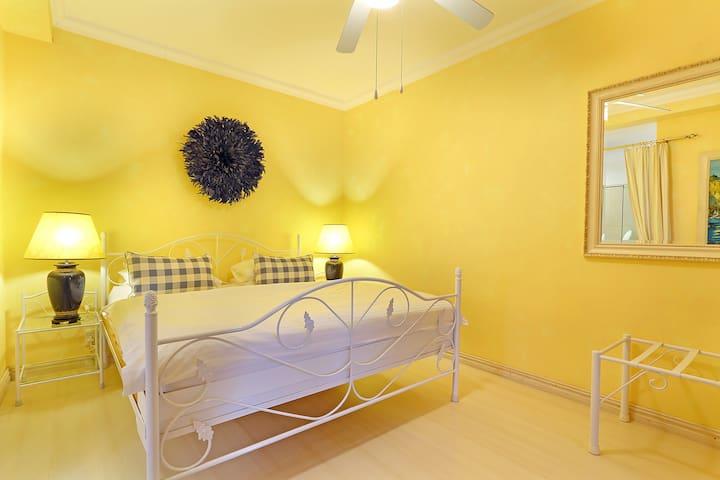 Mediterranean Suite Bedroom
