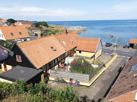 Old Klippegard, traditional house next to the sea