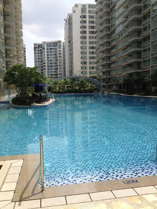caspian condo common room appartements louer singapour singapour. Black Bedroom Furniture Sets. Home Design Ideas