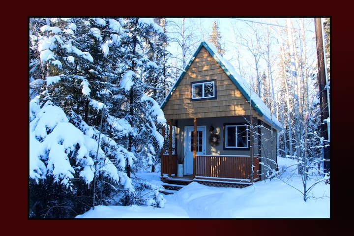 Get the True Alaskan Experience - North Pole - Cabana