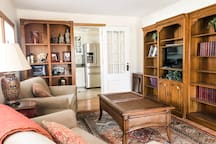 Comfortable TV- Family Room area