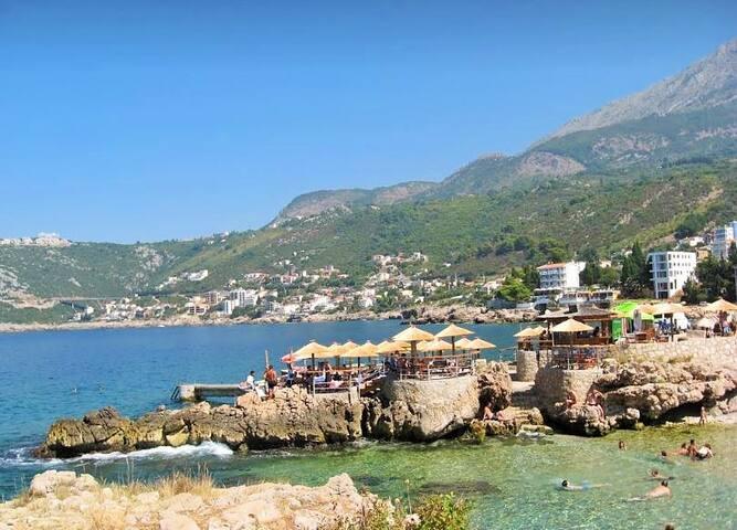 Adriatic Sea and Mountain Home