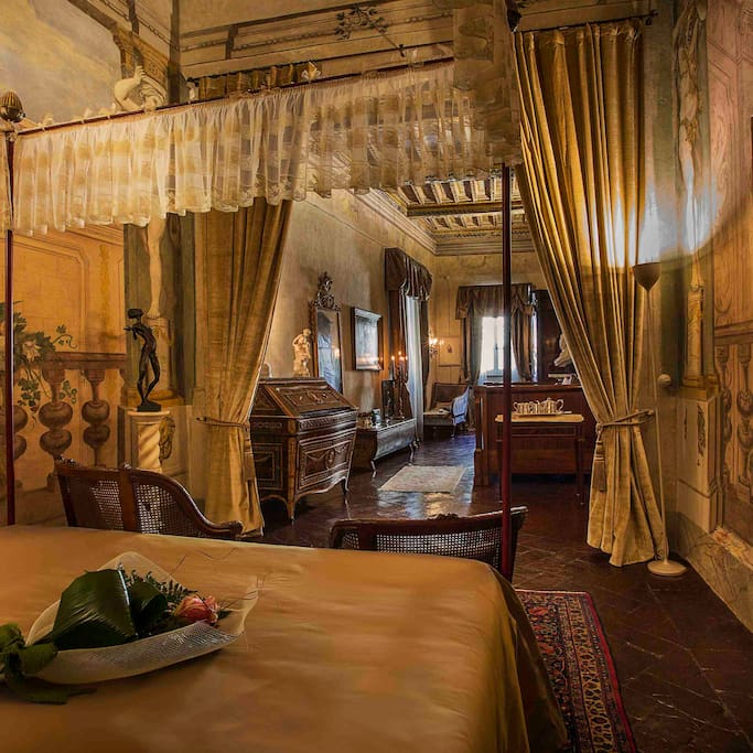 A royal view into the amazing Principessa Suite