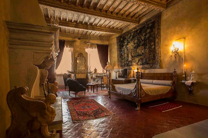 Palazzo Tommasi, Suite Signorelli - Cortona - Bed & Breakfast