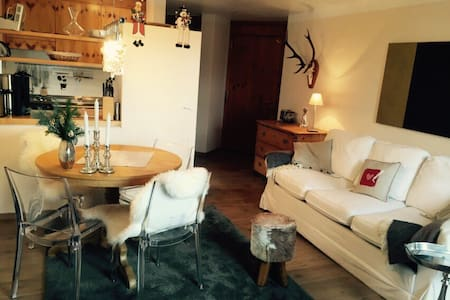 Casa Falcun direkt in Flims-Dorf - Flims - Wohnung