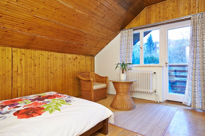 Room+Wifi+Balcony+Garden nearCenter - Budapest - Hus