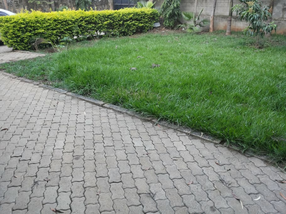 Front View of our Home in Kisumu
