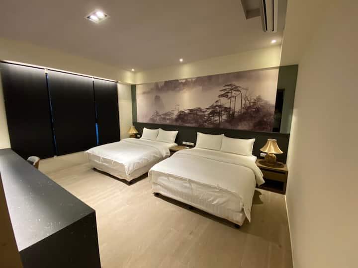 金莎民宿 :: Classic Family Room 典雅四人房