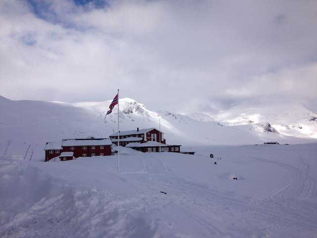 The heart of the Norwegian mountain