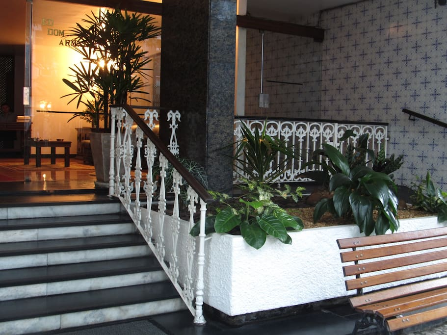 Entrance - building