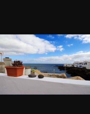 Casa en primera línea de mar