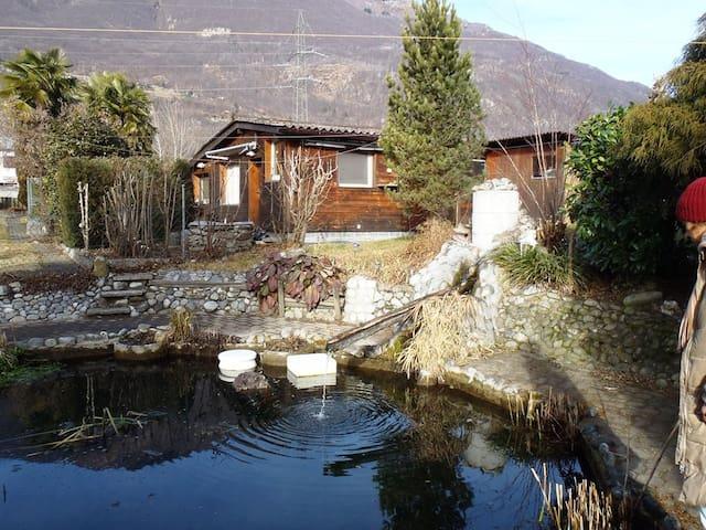 Ferienhaus Maria Ticino-Landschaft - Gudo - Hut