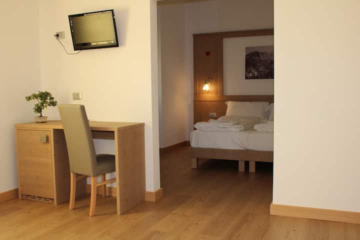 Junior suite 4 posti letto Val di Zoldo