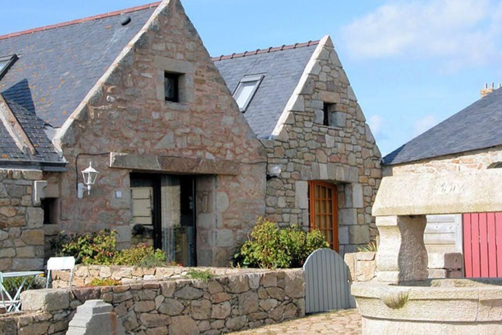 Typique maison de p cheur kerheol houses for rent in - Maison de pecheur bretagne ...