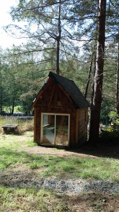 Tiny house, east view