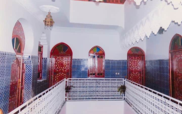 Chambre Lit double dans Riad Ibtihal