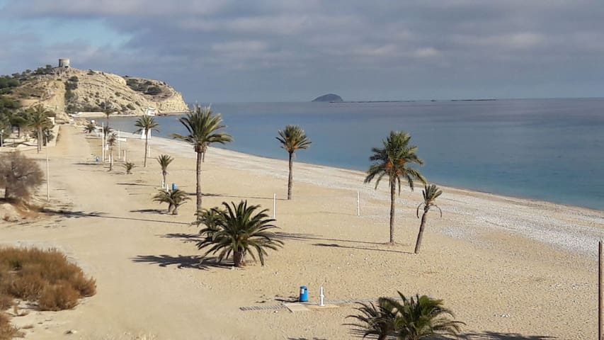 Appartment on the beach, VillaJoyosa, Benidorm