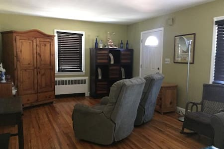 Comfortable 50's ranch-style home - 艾斯拜瑞公園市(Asbury Park) - 獨棟