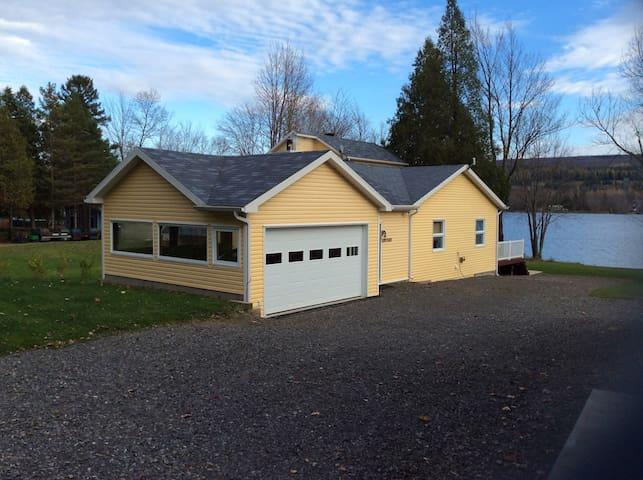 Maison sur le lac