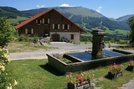 Maison d'hôtes de charme AlpesLéman - Habère-Poche