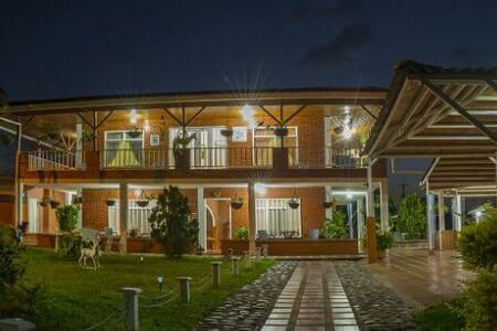 Finca Hotel Villa el Recreo, parques y descanso. - Quimbaya