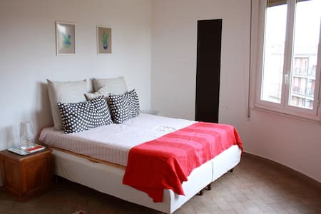 Bright and spacious double bedroom - Bologna - Wohnung