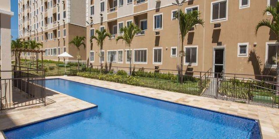 Quarto Individual ou Casal em Região Privilegiada - Fortaleza - Apartamento