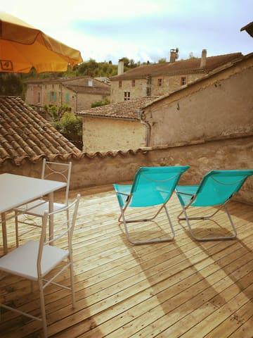 Green village house drome diois huizen te huur in pi gros la clastre auvergne rh ne alpes - Ruimte stijl louis philippe ...