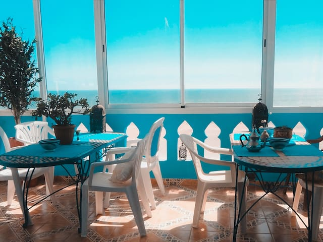 Surf & Yoga Paradise Morocco, Private double rooms